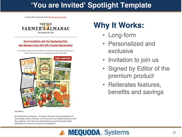 You are invited Spotlight Framework